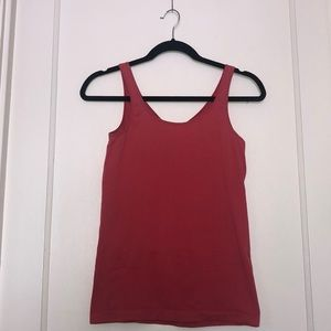 Anthropologie Red Stretchy Camisole Tank Top